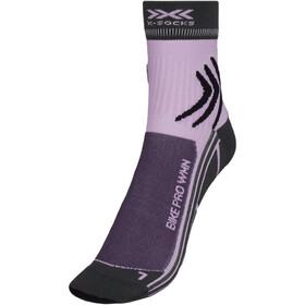 X-Socks Bike Pro Socken Damen grau/lila